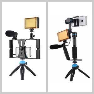 Image 5 - بولوز 3.5 مللي متر استيريو صوتي صنع الأفلام الإرتداد التصوير مقابلة ميكروفون لتسجيل الفيديو DSLR & DV للايفون ، الهواتف الذكية