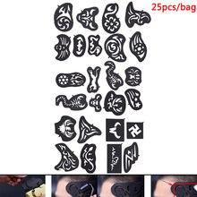 25 шт новая машинка для стрижки волос татуировки шаблон + 1
