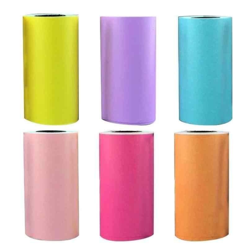 Pegatinas de papel con impresión térmica, autoadhesivas, 57x30mm, pegatinas de papel con impresión térmica, impresora de fotos para impresora de fotos Paperang