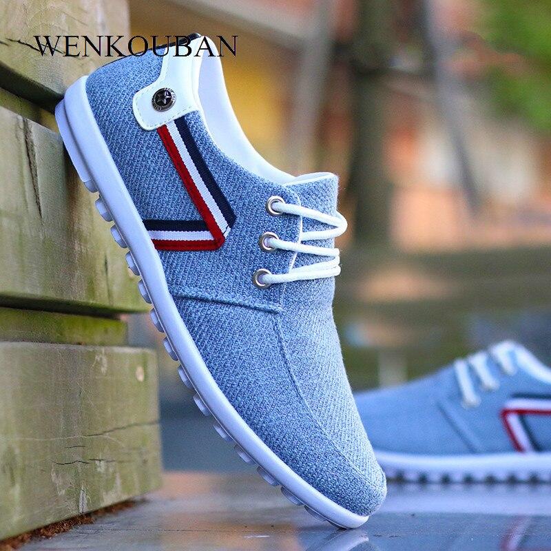 Erkekler rahat ayakkabılar loafer'lar yaz erkekler üzerinde kayma daireler nefes kanvas ayakkabılar erkek sürüş ayakkabısı Tenis Masculino Adulto 2020