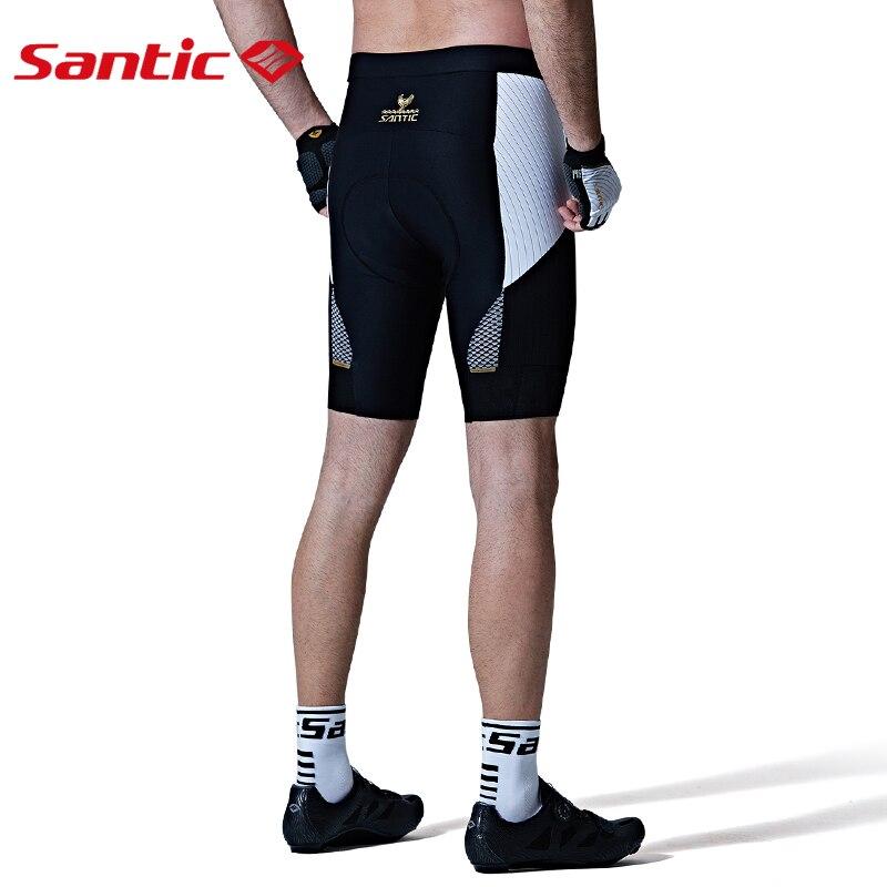 Santic мужские шорты с подкладкой для велоспорта, гоночная посадка, импортировано из Италии, DOLOMITI FM1507 коврик, итальянская одежда для езды на ве...