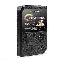 Novo 400 em 1 portátil retro game console handheld jogadores menino 8 bit gameboy 3.0 Polegada lcd sreen suporte tv dois jogadores