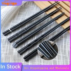 1 Pair Japanese Chopsticks Alloy Non-Slip Sushi Food Sticks Chop Sticks Chinese Gift Reusable Chopsticks