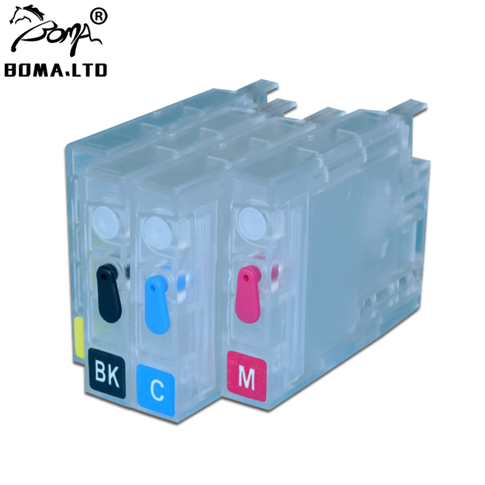 BOMA.LTD <font><b>953</b></font> 952 954 955 711 932 933 950 951 <font><b>Refill</b></font> ink Cartridge Without Chip For <font><b>HP</b></font> 8715 8718 8719 8210 8216 8218 T120 T520 image