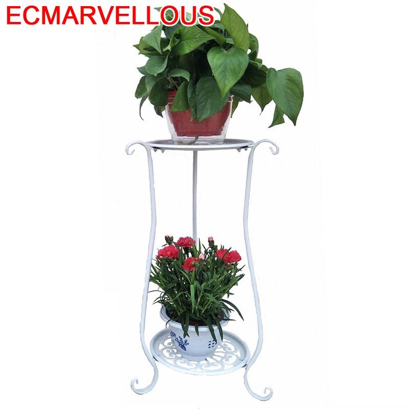 Varanda Decorative Metal Balcone Scaffali In Metallo A Ripiani Balcony Balkon Stand Flower Shelf Plant Rack