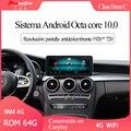 Автомобильный мультимедийный плеер hualкруг Benz C Class NTG 5,5 Android 8 ядер 64G Carplay WIFI 4G