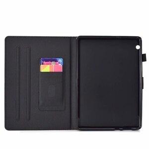 "Image 5 - กรณีสำหรับ Huawei MediaPad T3 10 9.6 ""AGS L09 W09 หนัง bling Glitter กรณี Honor Play pad 2 9.6 นิ้ว"