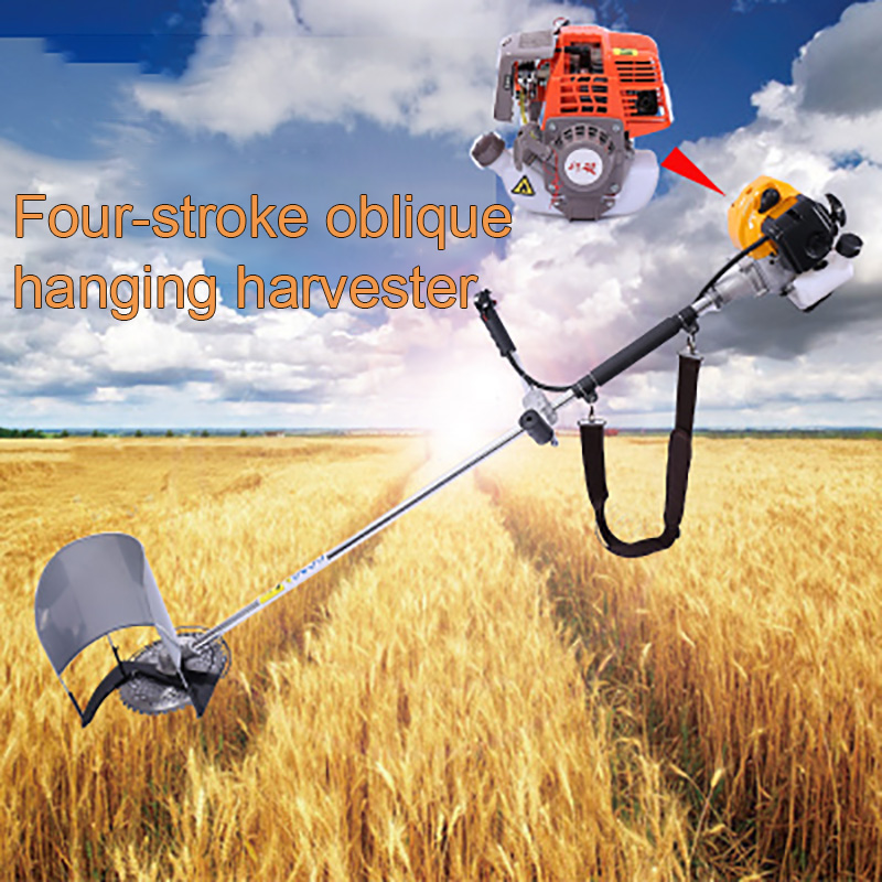 Corn Harvester Agricultural Machine Small Harvester Multi-function Rice Flour Agricultural Machinery Brand New Household Cutting