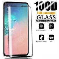 Protector de pantalla de vidrio templado para móvil, cubierta completa para Samsung Galaxy A71, A72, A52, A51, A90, M30, A5, A7, A8, A6, 2018