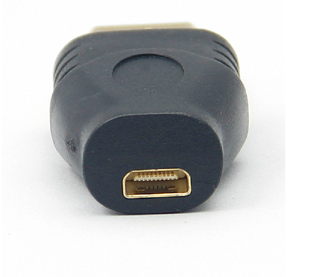 300pcs HDMI Male To Micro HDMI Female Converter Gold Plated HD Extension Adapter Connector for MP4 Digital Cameras Mobile Phone 6