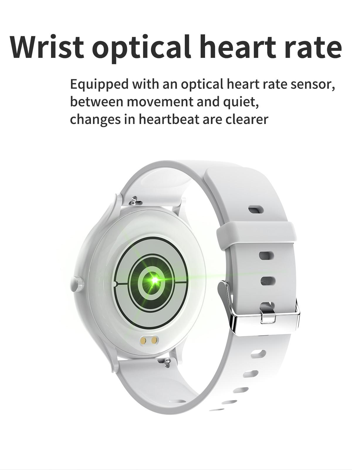 1.28 polegada freqüência cardíaca monitoramento de pressão