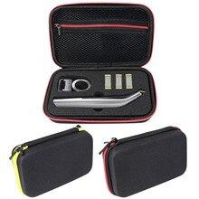 Besegad Afeitadora eléctrica de viaje EVA Estuche de transporte, bolsa de almacenamiento organizadora para Philips OneBlade Pro QP 150 6520 6510