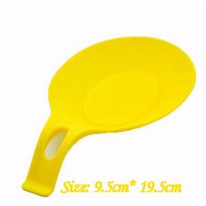 Kitchen supplies Silicone spoon spoon Spatula spoon pad Shelf spoon holder Spatula European spoon mat