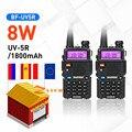 Original 8W Baofeng UV-5R Walkie Talkie Dual Band 136-174Mhz & 400-520Mhz Portable BF UV5R Two Way Radio Pofung HF Transceiver