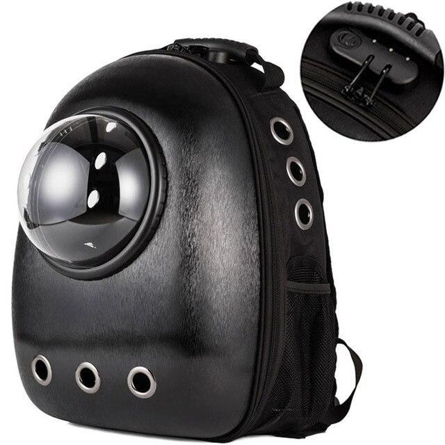 Wysokiej jakości Transport okienny przenoszenie oddychającej torby podróżnej bańka astronauta Pet Dog kapsuła kosmiczna plecak dla kota