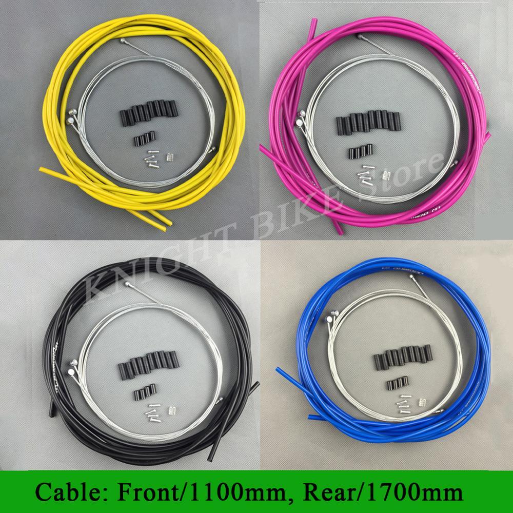 JAGWIRE новый комплект тормозной линии для горного и шоссейного велосипеда, набор кабелей для велосипеда, набор тормозных линий для Shiman0 Sram,10 цв...