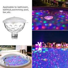 Drijvende Onderwater Licht Rgb Submersible Led Disco Party Licht Thee Night Glow Show Zwembad Bad Spa Lamp Babybadje licht