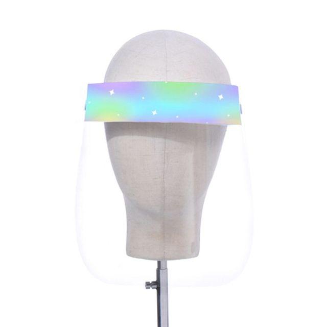 Child Transparent Protect Mask Protective Adjustable Anti-saliva Dust-proof Full Face Cover Children Mask Visor Shield 5