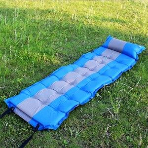 Image 5 - Tapis de couchage de tente de Camping coussin de coussin gonflable automatique matelas dair unique