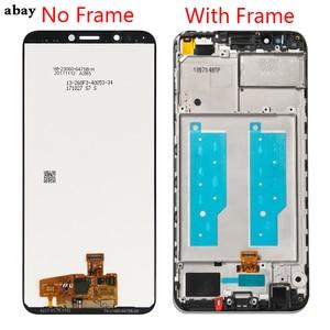 Image 2 - Для Huawei Y7 2018 ЖК дисплей сенсорный дигитайзер для Huawei Y7 Pro 2018 ЖК дисплей с рамкой Y7 Prime 2018 экран в сборе ЖК дисплей 5,99 дюйма