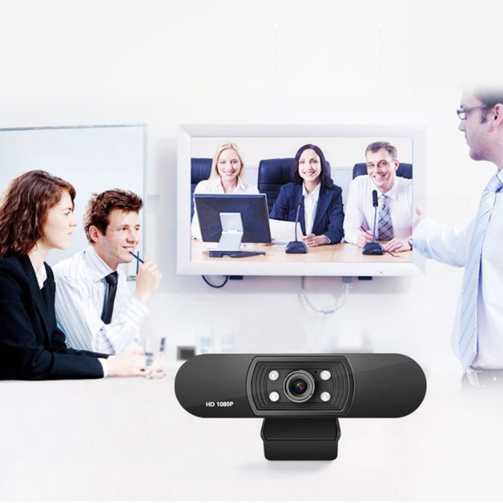 1080P USB Webcam in Clip-on Design with Built-in Noise Isolating Microphone 18