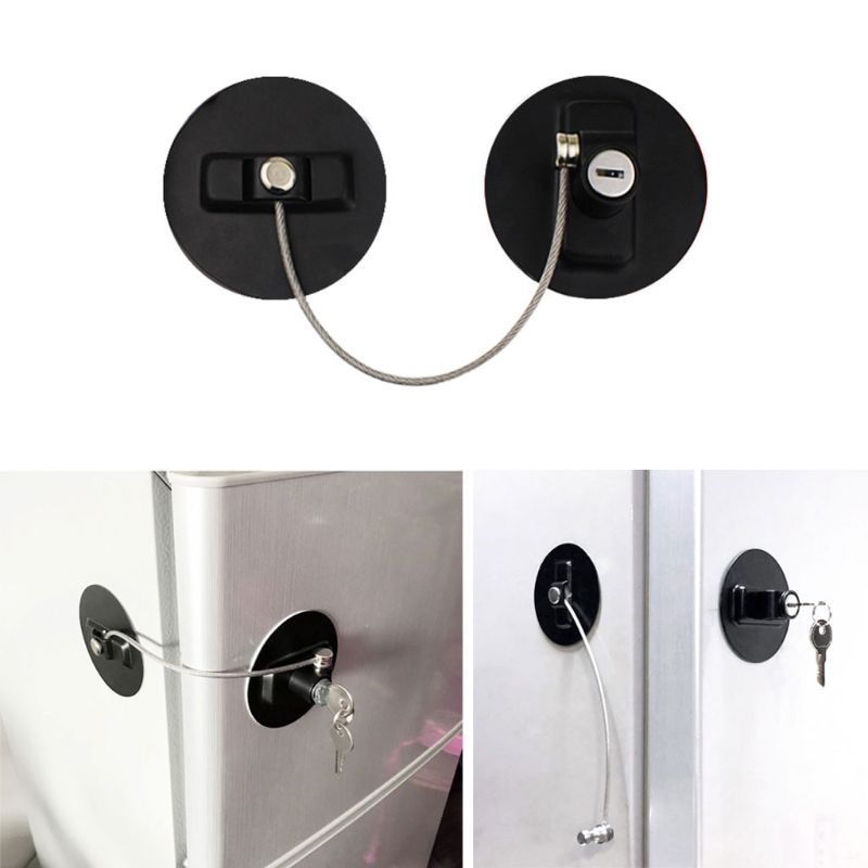 Быстрое и легкое клейкое детское защитное стекло встроенный холодильник лимитные замки ключ