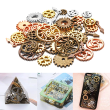 50g/100g Metal Gear Clock Hand Jewelry Filling UV Resin Epoxy Mold Making Fillings Accessories For Handmade DIY Jewelry Crafts