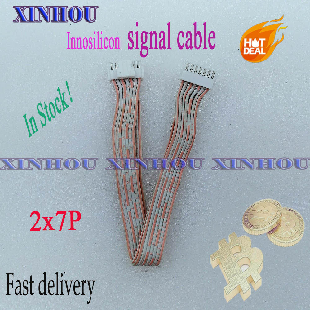 Innosilicon mining signal cable 2x7 pins communication data cable 2.0 for Asic Bitcoin ETH miner T1 T2 T2T L2 A10 Pro 1