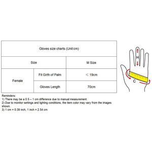 Image 5 - 70 センチメートルエクストラロング革手袋の上肘エミュレーション革シープスキン PU 女性の明るい黒タッチスクリーン機能 WPU14 70