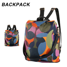 High Quality Waterproof Women Backpack Fashion Anti-theft Women Backpacks Famous Brand Ladies Large Capacity Backpack School Bag цены