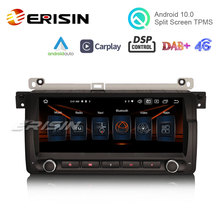 Auto GPS Android 10.0 Erisin 325 Carplay Car-Stereo DSP BMW for 3er E46 318 320/325/M3