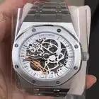 Luxus Marke Neue Automatische Mechanische rose gold Männer Uhr Sapphire Glas Transparent Skelett Gold Tourbillon Uhren AAA + - 4
