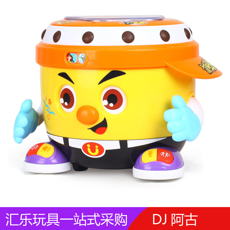 Huile Toys 788dj Iago Electric Universal Music Drum Of Singing Voice Recording Dancing Robot