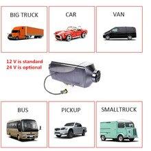 Webasto silencieux pour chauffage à induction 12v, 5kw, pour moteur diesel avec réservoir et écran LCD, pour chauffage de stationnement et télécommande