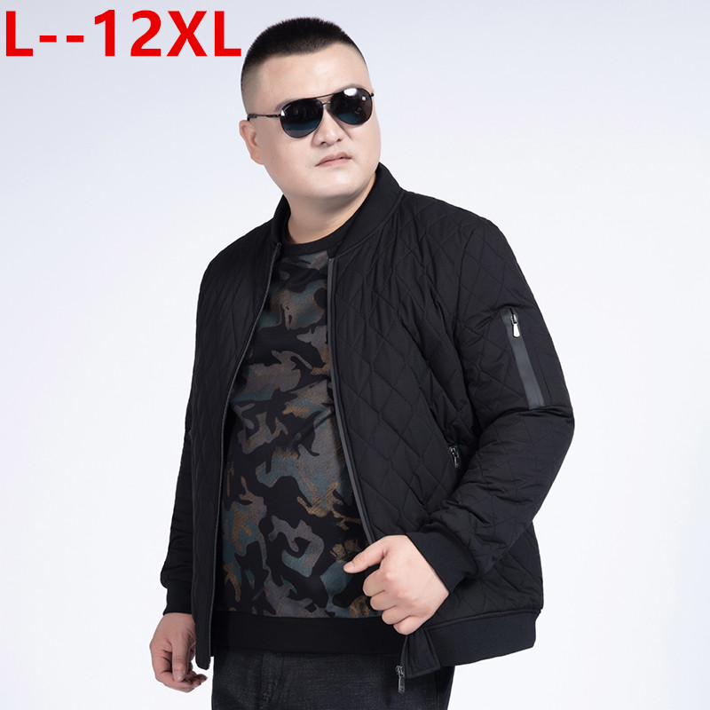 Plus 12XL 10XL 8XL 6XL 2019 New Winter Jackets Parka Men Autumn Winter Warm Outwear Brand Slim Mens Coats Casual Printed Jackets