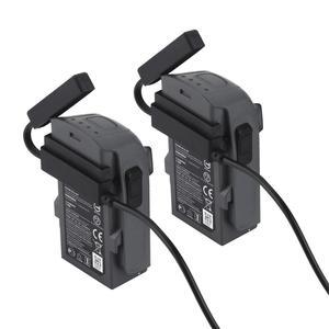 Image 4 - 3 in1 شاحن سيارة ل DJI شرارة بطارية والبعيد تحكم 2 بطاريات محور شحن USB محول ل DJI شرارة شاحن