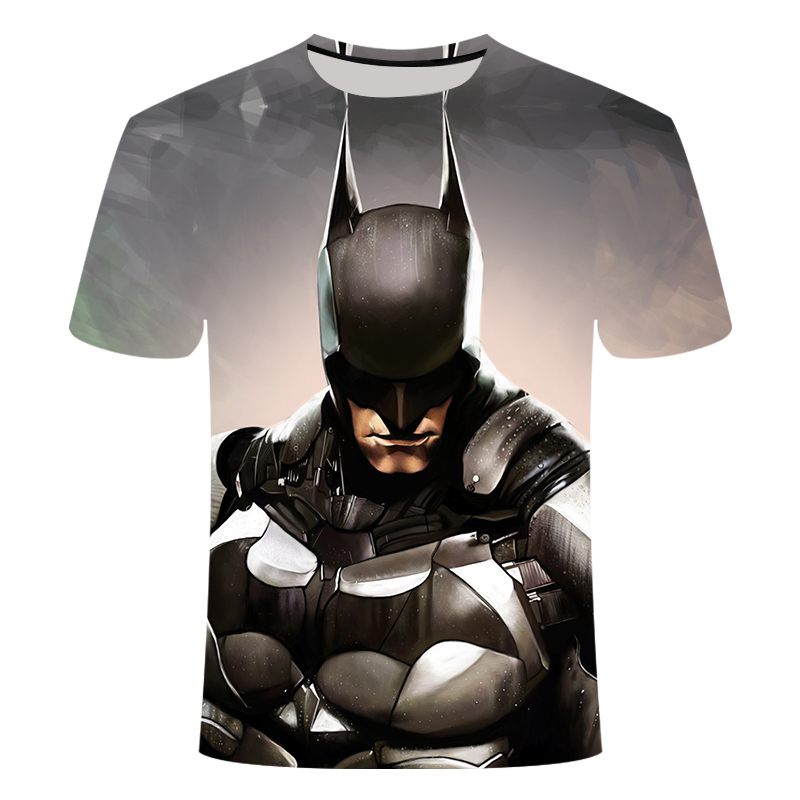 Nueva moda Superman Batman 3D camiseta de verano de manga corta para hombre Camiseta Casual superhéroe camiseta superior camiseta 6xl Surwish ensamblado mundo arquitectónico 3D papel modelo de construcción de Casa Kit Torre Spasskaya/tienda de souvenirs griego