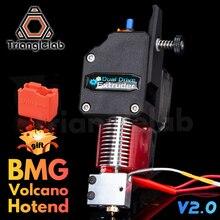 Trianglelab BMG wytłaczarka wulkan HOTEND MK8 wytłaczarki Bowden podwójny napęd wytłaczarki do drukarki 3d wysoka wydajność dla I3 printe