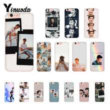 Yinuoda Zanger Shawn Mendes Patroon TPU Soft Telefoon Mobiele PhoneCase Voor iPhone 8 7 6 6S Plus X XS MAX 5 5S SE XR 11 11pro 11promax(China)