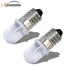 RUIANDSION 2 pièces E10 F5 Led ampoule AC 220V 230V 6000K 4300K blanc chaud 1W vis 150Lm Non polaire équipement lampe de travail lampe pilote