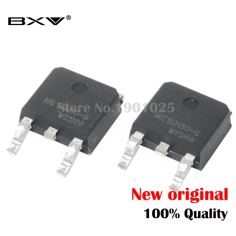 10PCS ME15N10-G ME15N10 TO-252 TO252 15N10 Mosfet New And Original