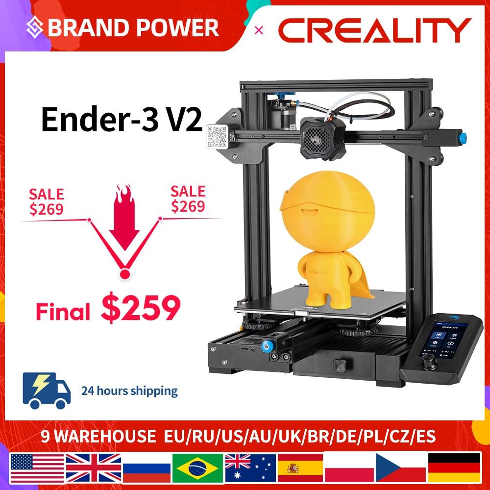 CREALITY 3D Новый Ender-3 V2 3D принтер
