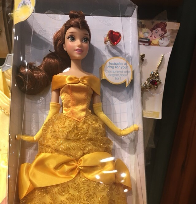 Disney Princess Classic Belle Doll includes Chip from The Beauty /& the Beast