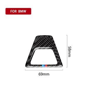 Image 2 - In Fibra di carbonio M Stile Attenzione Luce Pulsante Coperture Della Decorazione Della Decalcomania Auto Interni per BMW 5 Serie G30 G38 528i 530i 2018