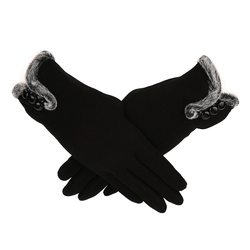 MUQGEW  Gloves Women Cashmere Keep Warm Driving Full Finger Gloves Touch Screen High Quality Casual Gloves Women 2019