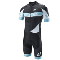 Velotec tights men's bicycle blue/black tights suit triathlon jumpsuit ropa ciclismo running quick drying suit cycling clothes