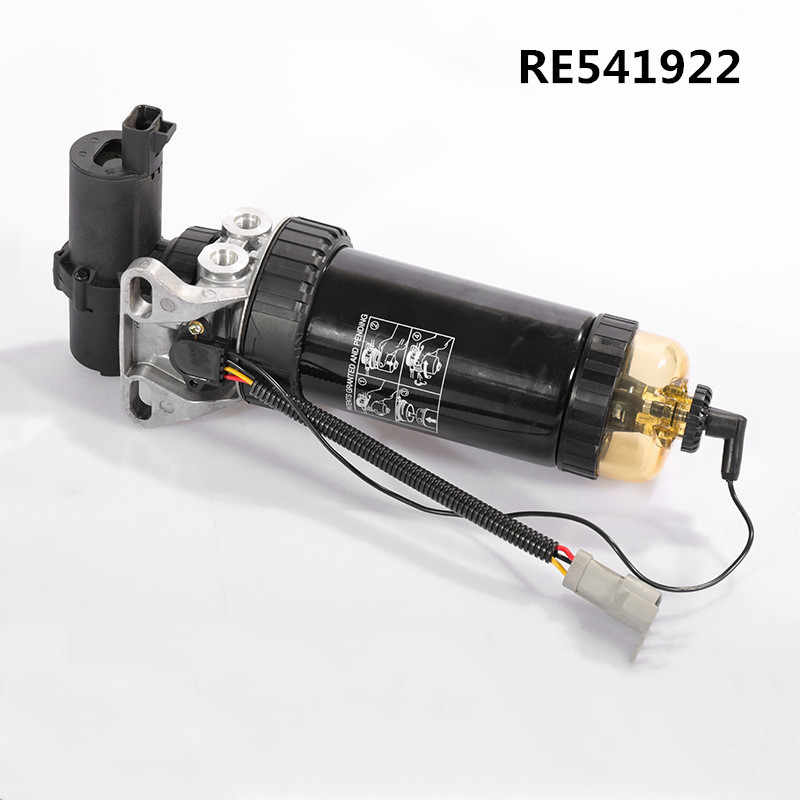Fuel Filter Assembly RE541922 With Electronic Pump Fuel Water Separator For  JOHN DEERE 210/240 Excavator Diesel Generator Sets| | - AliExpressAliExpress