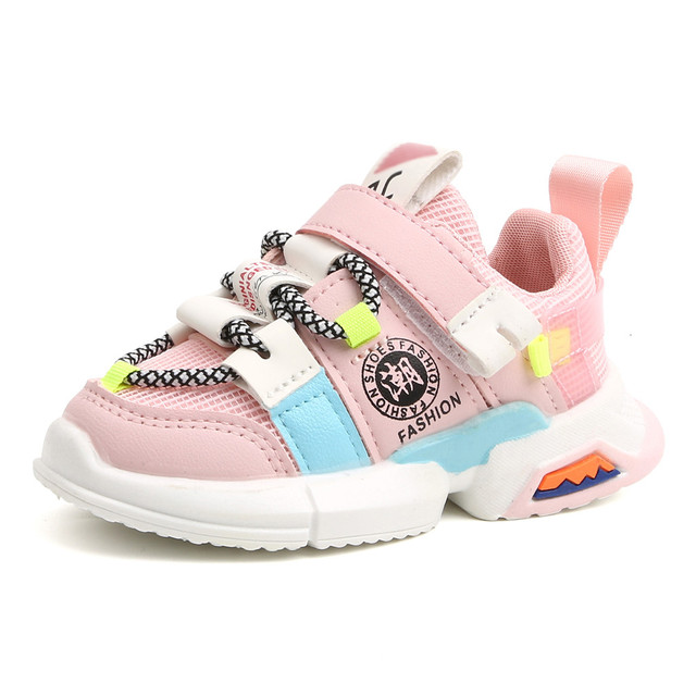 Toddler Infant Kids Shoes For Girl Baby Girls Boys Soft Sole Mesh Running Sport Shoes Girls Kids Sneakers Tenis Infantil Zapatos 3