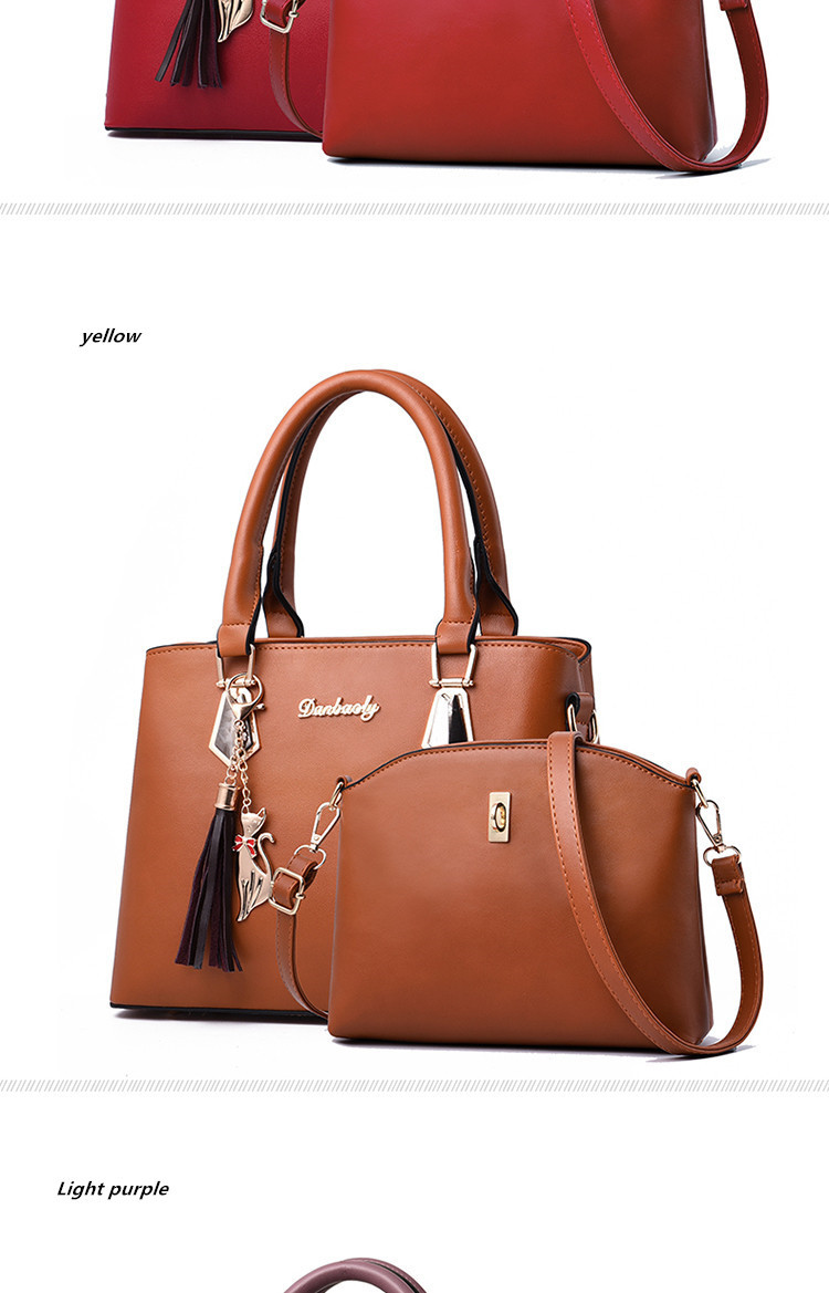 Hd4c5cf3e70644234b879e0ad19789eefz - Fashion Woman Bag Female Hand Tote Bag Messenger Shoulder Bag  Lady HandBag Set Luxury Hand bag composite bag  bolsos