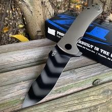 ZT 0920 Camping folding knife  titanium alloy handle S90V blade  EDC Outdoor Survival  knife